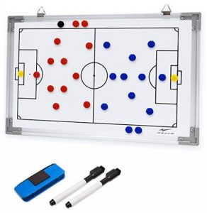 soccer tactics wall board