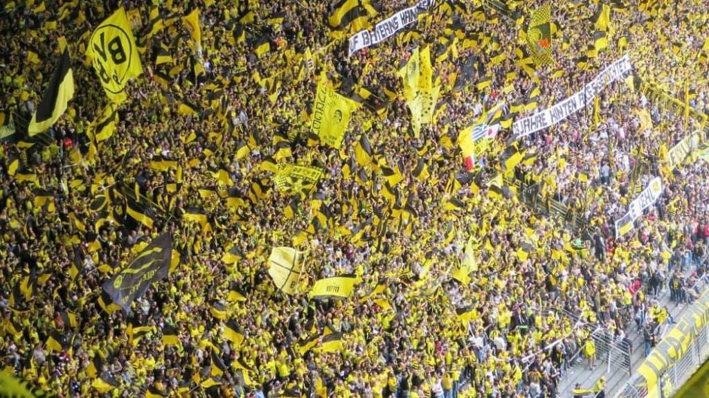 Soccer fans - Borussia Dortmund