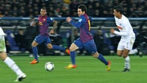 Soccer player Lionel_Messi_running