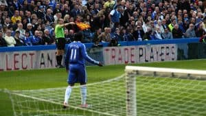 Offside soccer match Chelsea
