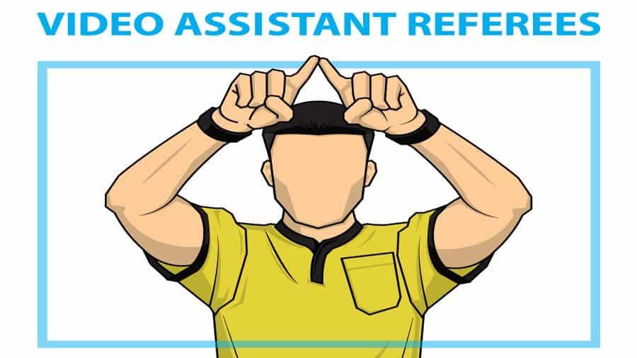 VAR-Video-assistant-referee-soccer cartoon
