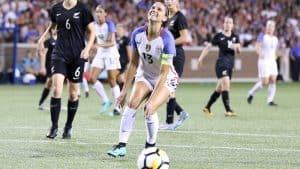 Soccer friendly USA vs Poland Women